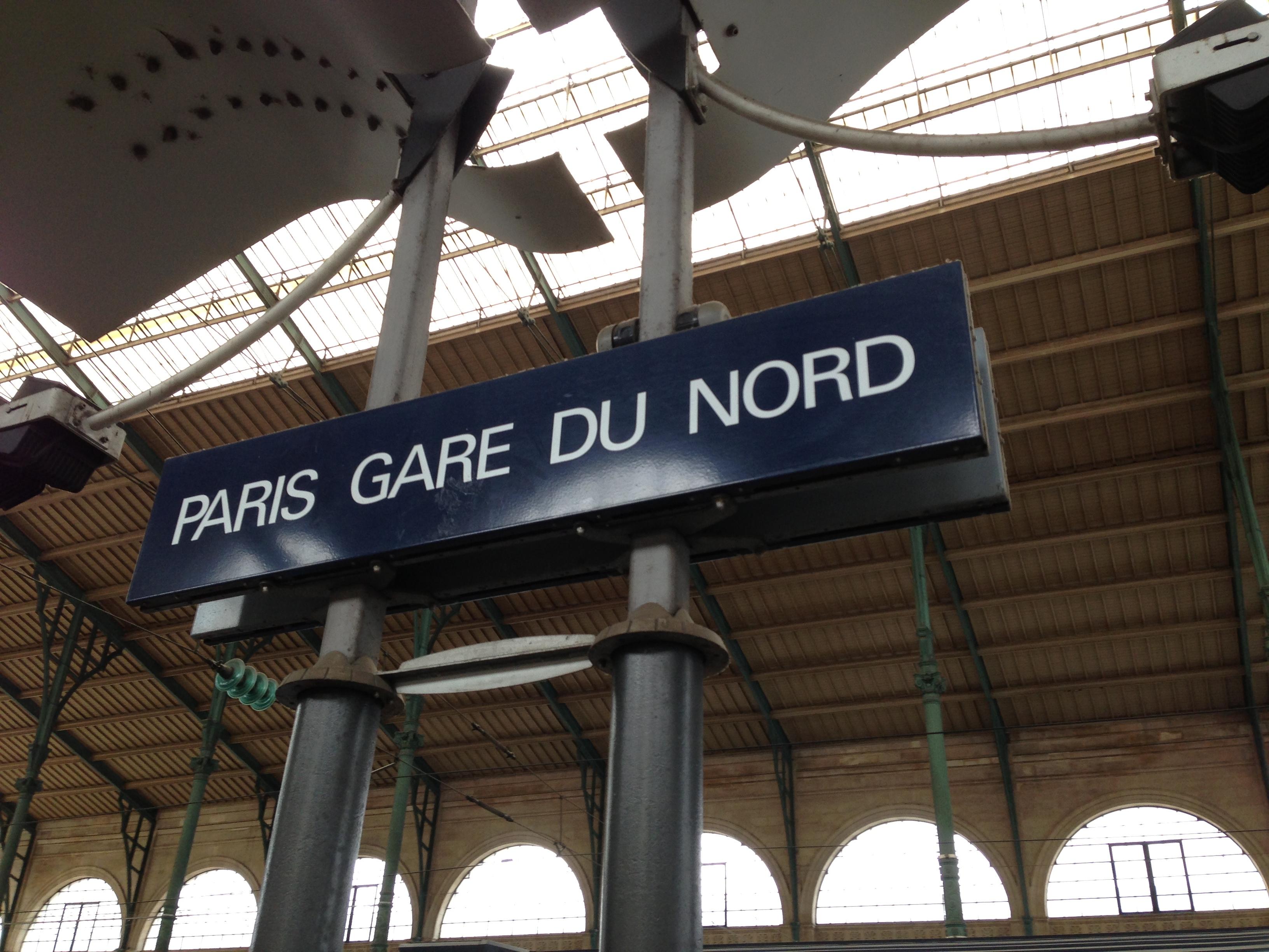 S n c f for Gare du nord paris
