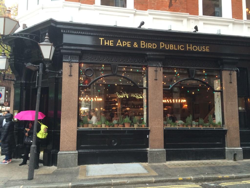 Polpo Restaurant Covent Garden