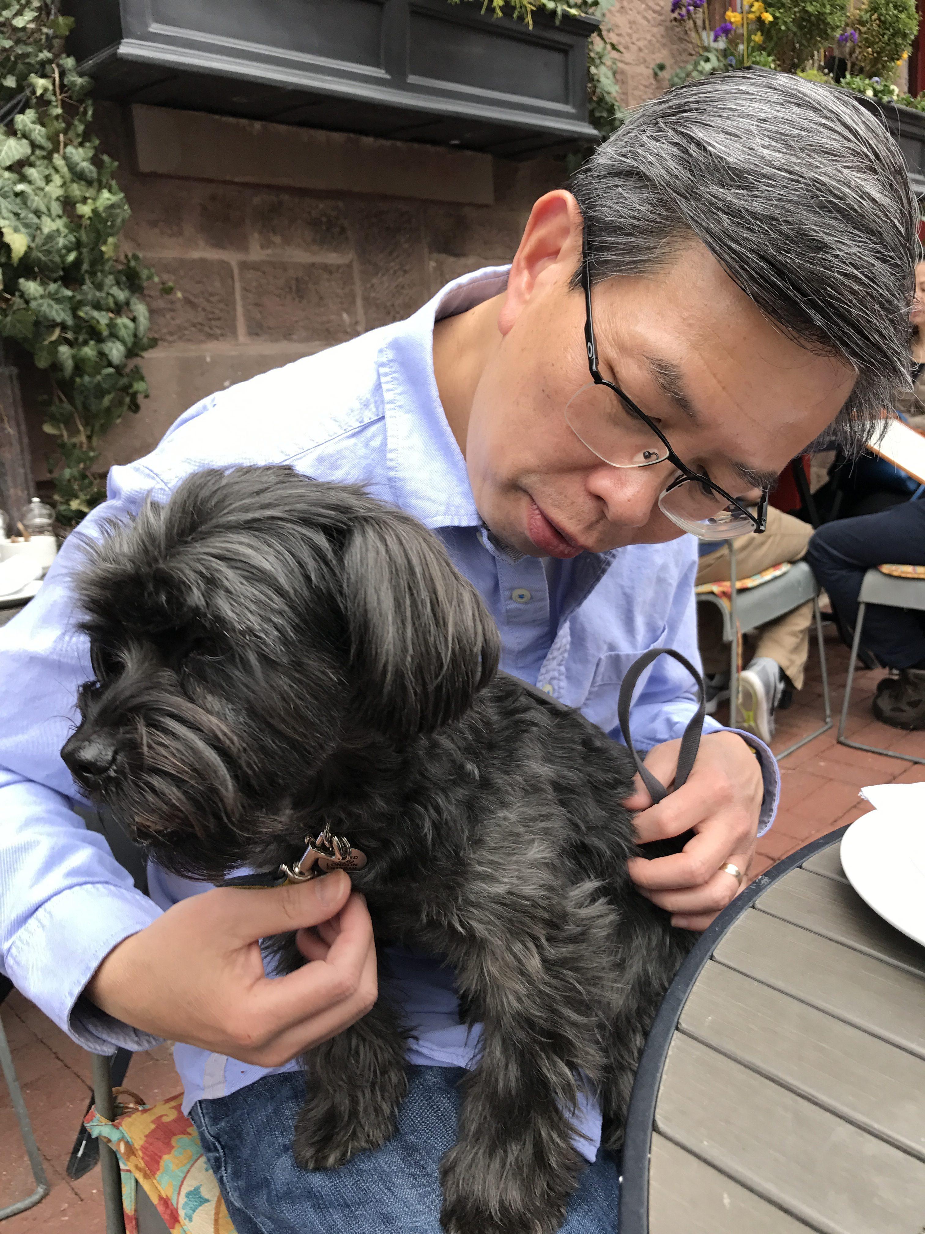 Dog Biting Outdoor House Trim