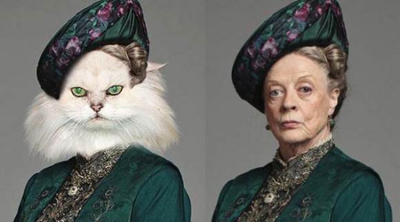 Cast-Of-Downton-Abbey-As-Dogs-And-Cats5
